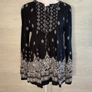 ALTAR'D STATE Black Long Sleeve Tunic
